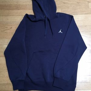Nike Michael Jordan Navy Blue Hoodie Sweatshirt M